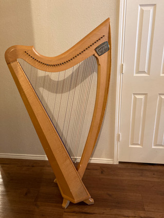 Eclipse Lever Harp for Rent