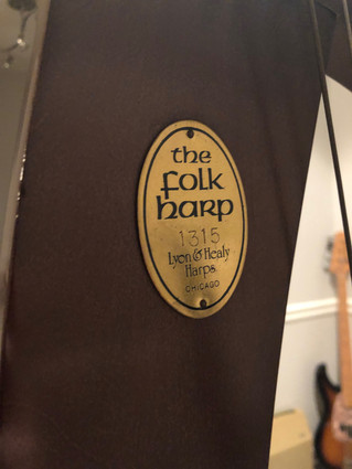 L&H Folk Harp for Sale
