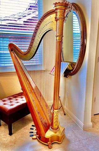 Wurlitzer Starke Model Harp Gold and Natural For Sale!