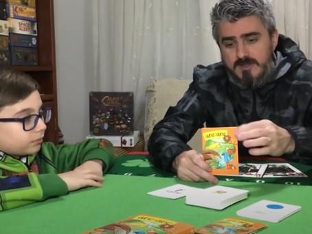 Jogando Quero-Quero em família com o canal Ludus Sapiens