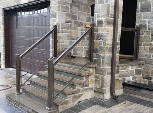 aluminum glass rail