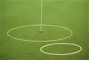 Instructor eGolfRing Pkg Golf Target Circle Rings