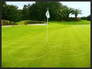 Coaching eGolfRing Pkg Golf Target Circle Rings