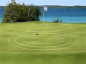 Pro eGolfRing Pkg Golf Ring Target Circles