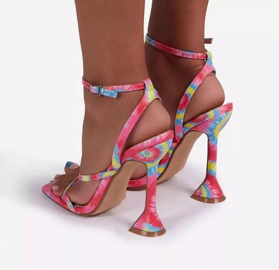 Bubblegum Electric Heel