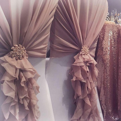Dusty Pink Ruffles