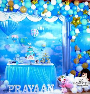 Hot Air Balloon Backdrop