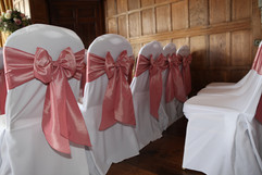 Dusty Pink Bows