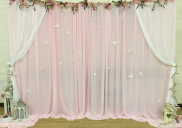 Pink Backdrop
