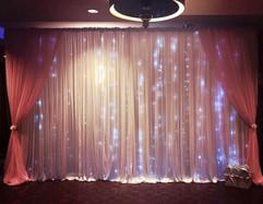 Pink Starlight Backdrop