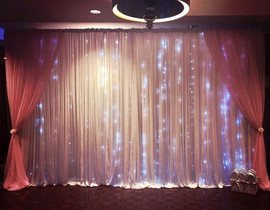 Pink Starlight Backdrop