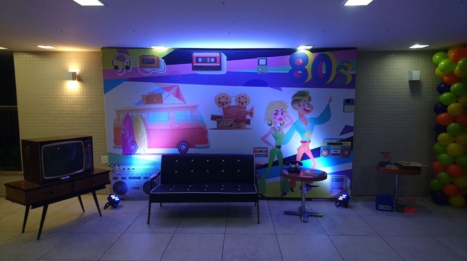 Backdrop painel