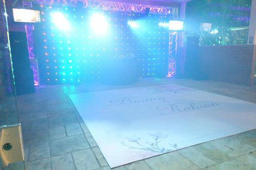 Pista de dança 5x5 - MDF