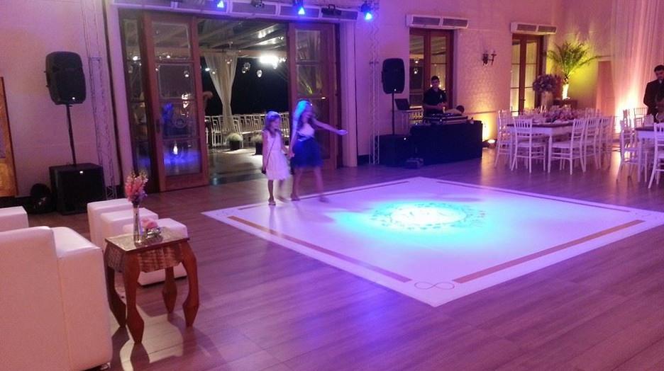 Pista de dança Personalizada