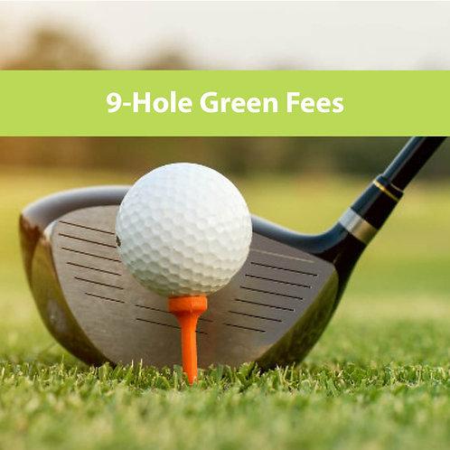 Green Fees: 9-holes