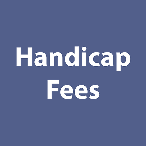 Handicap Fees