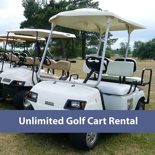 Cart Rental: unlimited