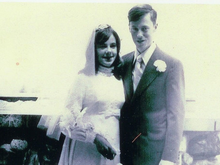 Reflections on our 50th Wedding Anniversary