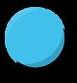 La boulle de pétanque bleu des pétancoeurs