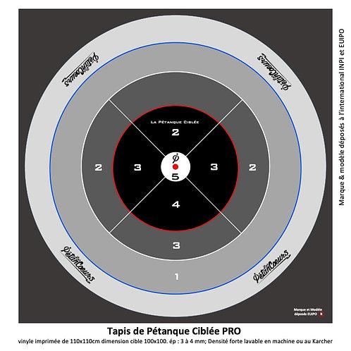 PRO Targeted Pétanque Mat 110x110cm