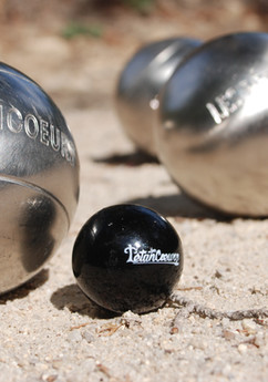 Personalized petanque ground
