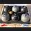 Thumbnail: 6 Boules Synthétique 680gr/ 72mm haut de gamme