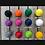 Thumbnail: 6 Boules Synthétique 680gr/ 74mm
