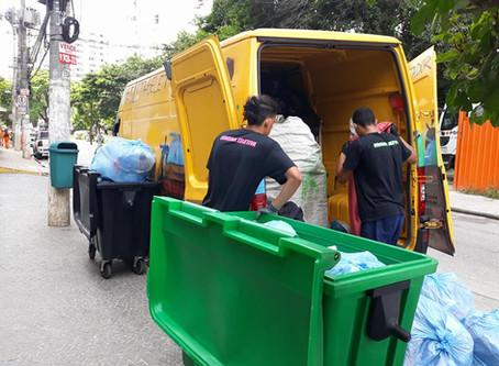 Colmeia reciclando a Vila Olímpia