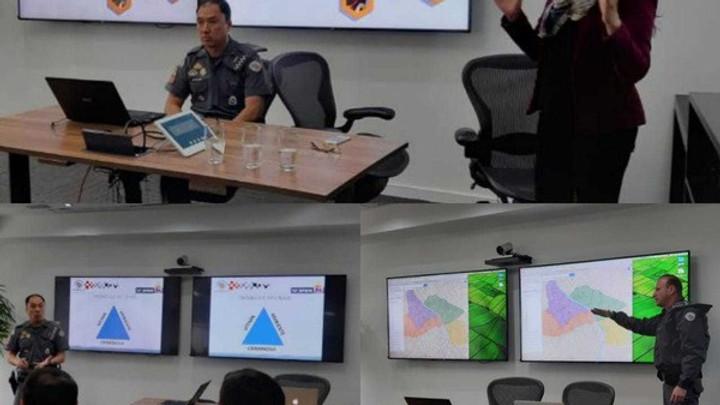 Colméia realiza encontro na Vila Olímpia com o 23ª BPM/2ª Cia em parceria com Discovery Channel