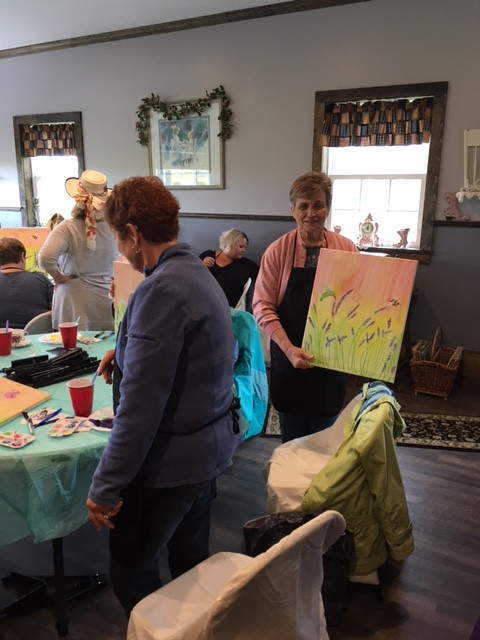 Sip and Paint Classes