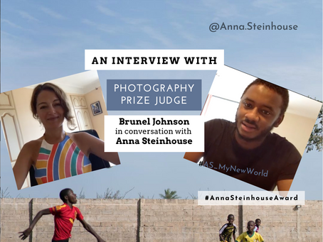 Interview with Brunel Johnson-a member of our Photography Award Panel
