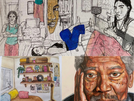 The Winners of Childrens' Art Competition of Anna Steinhouse Award