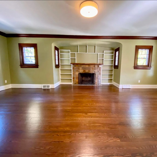 Dave Willan's Renovated Living Room