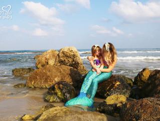 צילומי בנות ים בים