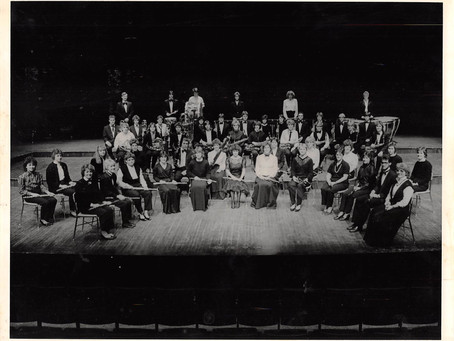 1983 or 1984 CSB/SJU Wind Ensemble