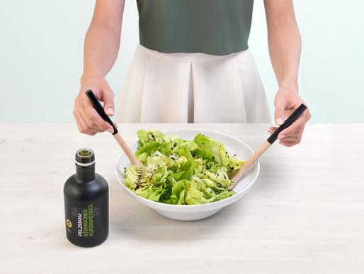 Zelný salát s dýňovým olejem