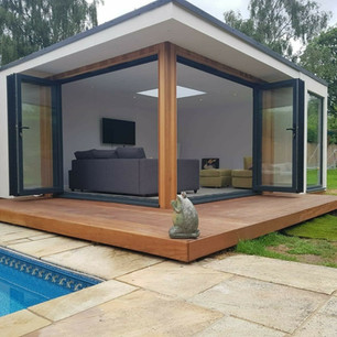 Kenneth Charles Bespoke Garden Room - Chill Out!