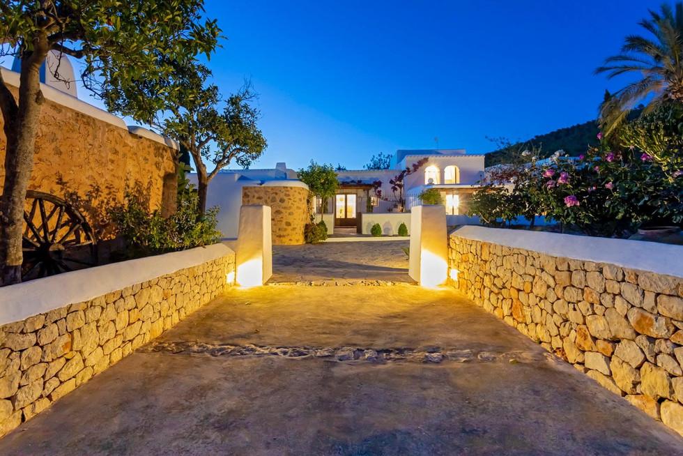 Poort van de villa
