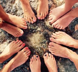 Happy feet!