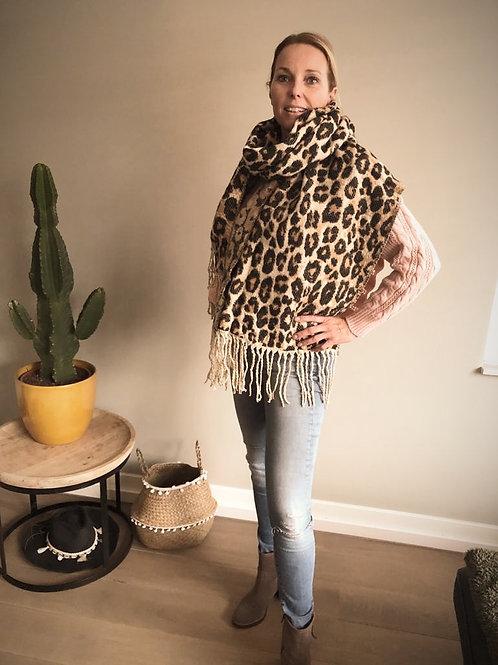 Panterprint shawl