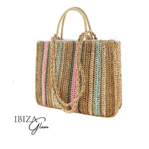 Boho Color shopper tas