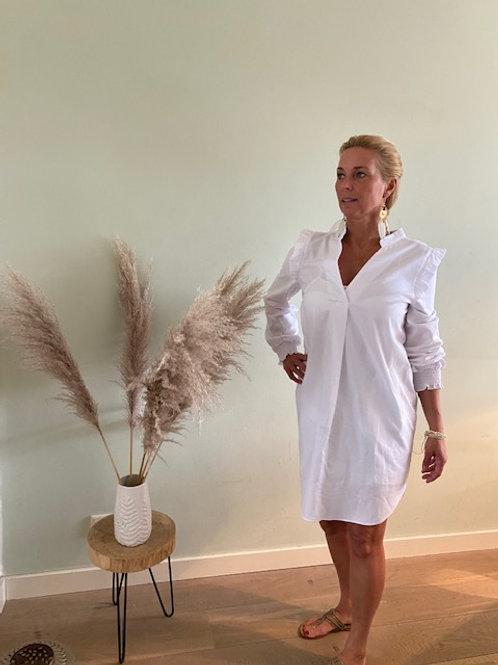 Blouse jurk wit