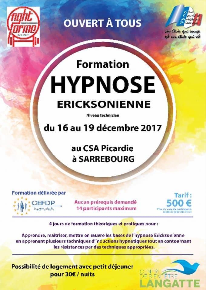 Formation Hypnose Sarrebourg