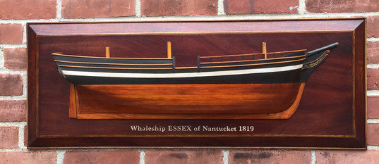 Hlaf Model of the Whaleship Essex of Nantucket