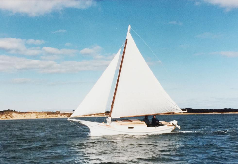 """Skipjack sloop """"Windwave"""""""