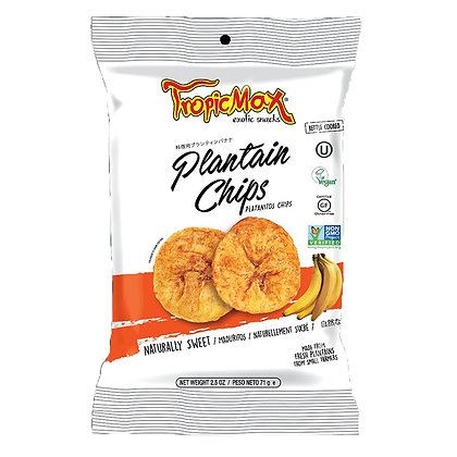 Банановые (плантайновые) чипсы сладкие 71гр. Эквадор