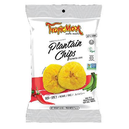 Банановые (плантайновые) чипсы пикантные 71гр. Эквадор