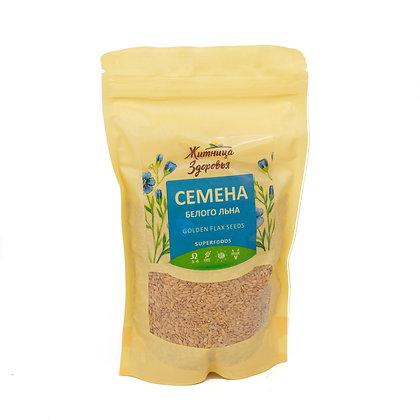 Семена белого льна 230 гр (можно проращивать) Житница здоровья