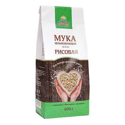Мука рисовая 0,5 кг Житница здоровья