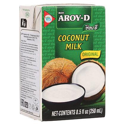 Кокосовое молоко Aroy-D жирность 17-19% 250 мл